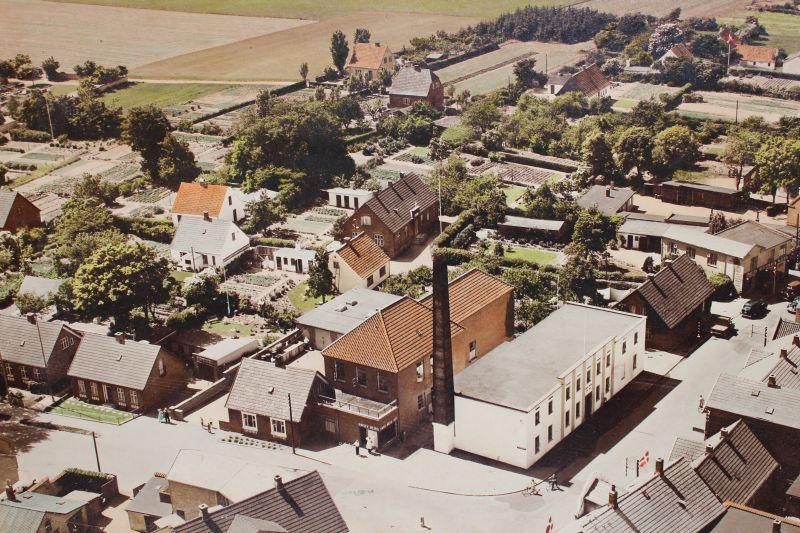 Gørlev Mejeri ca. 1955 Fotograf ukendt