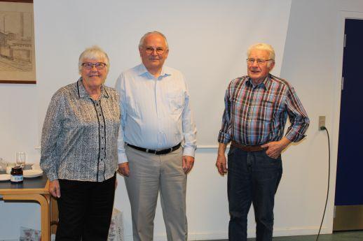 Mange tak til Henning Bonde og Finn Jensen for at de ville komme til Gørlev tre gange.