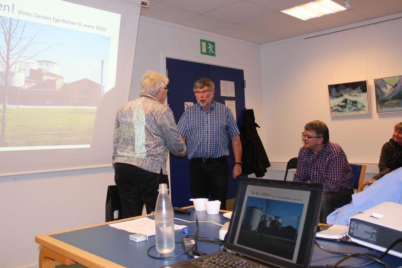 Carsten Egø Nielsen fortalte om Slagelse-Værslev banens anlæggelse og om hvorfor Gørlev Sukkerfabrik blev anlagt netop i Gørlev.
